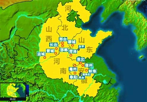 中原经济区规划正式发布 聊城菏泽和东平县入围