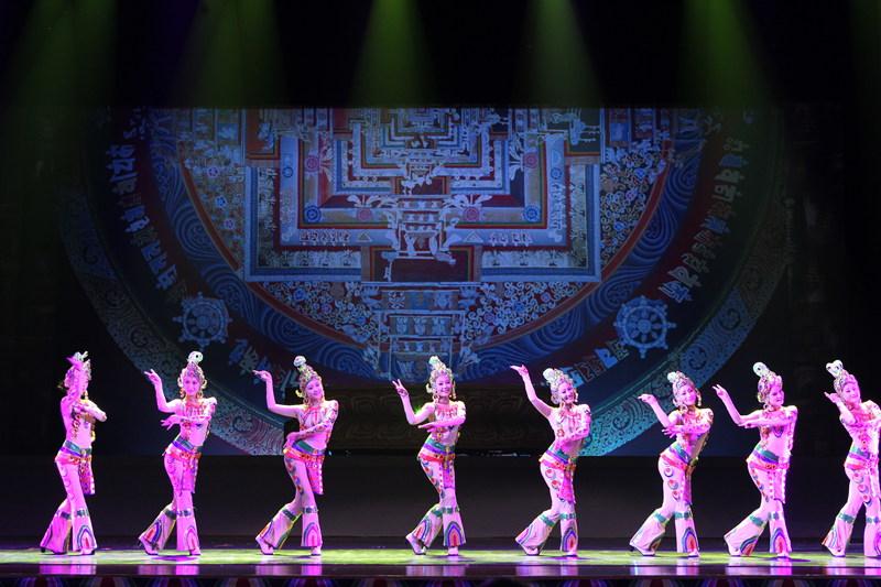 青海省藏剧团黄南州民族歌舞剧院歌舞《热贡神韵》【2