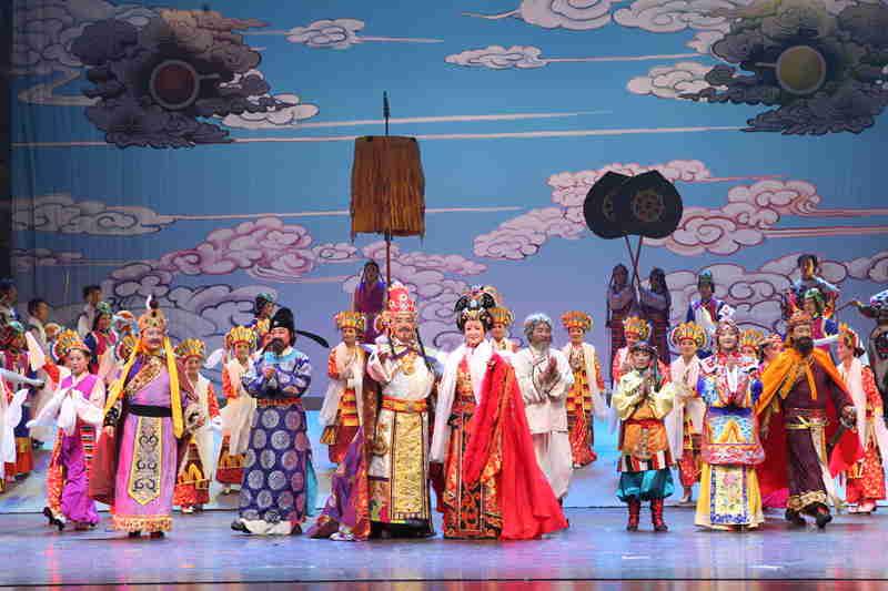 青海省藏剧团黄南州民族歌舞剧院歌舞《热贡神韵》【13】