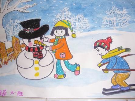 济宁教育学院附小幼儿园举办幼儿绘画作品展