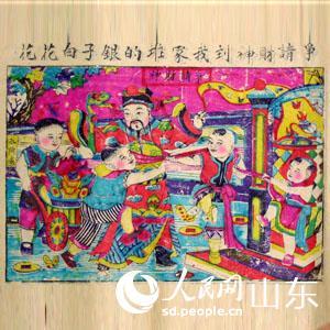 张殿英木版年画展开展+120幅代表作捐省博物馆--