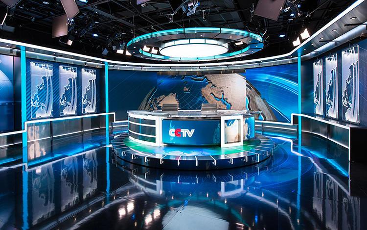 《新闻联播》国际范儿新演播室:超美国水准(组