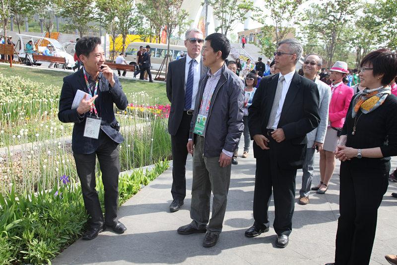 """(走进青岛世园会)香港园开园 设计""""宜居之城"""""""