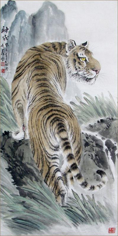 人民大会堂万里长城百米长卷的制作.2002年获得中国美术百