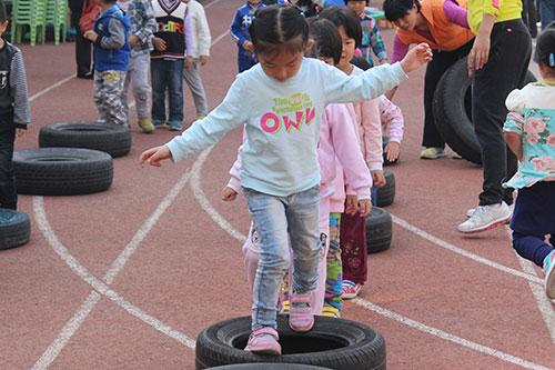 十亩园小学幼儿园秋季亲子运动会启动
