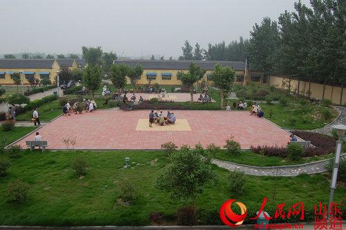 兰陵县向城镇积极漂流公共文化建设体系服务木推进设计图片