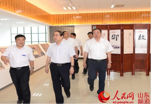 济宁市委书记马平昌到山东理工职业学院参观调