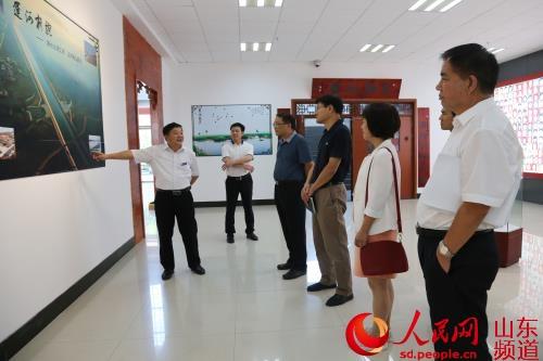 山东省委高校工委来理工职业学院参观指导工作