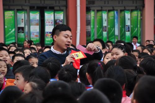 济南市经十一路画报2017年春季开学年级典礼一小学食品安全小学图片