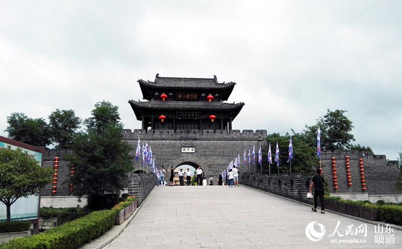 台儿庄运河古城位于世界文化