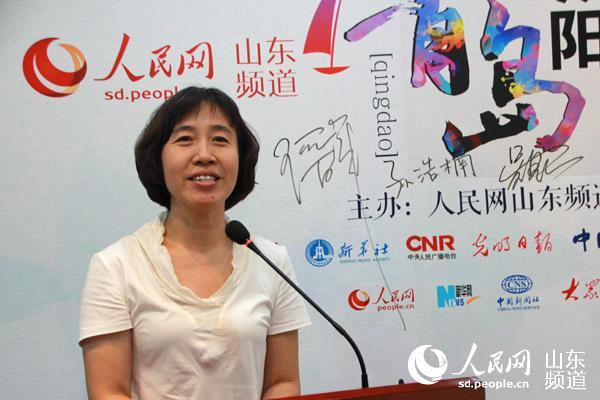 """聚焦动车小镇 人民网""""青岛·城阳""""融媒体行启动"""