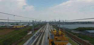 济青高铁接触网工程基本完成 8月1日起联调联试