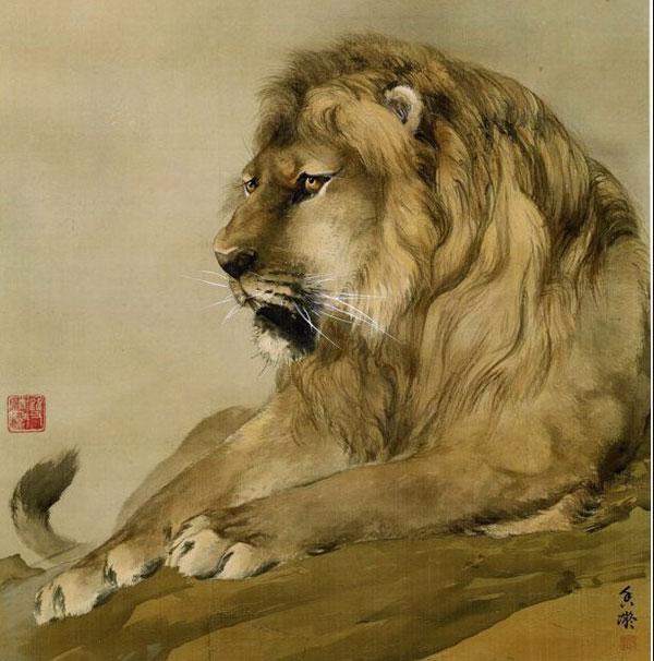 《狮》 何香凝