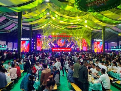 2019年青島啤酒節:四十城接力暢飲輪番上演狂歡模式