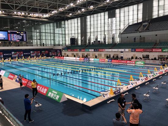 """2019游泳世界杯8日济南开战本周四起""""泉城泳动"""""""