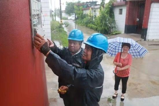淄博桓台供电灾后
