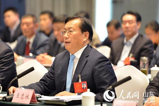 """济南市委书记王忠林:""""五篇文章""""发力黄河流域生态保护和高质量发展"""
