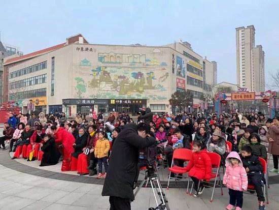 走进一座园,穿越中国年:印象济南・泉世界新年味浓欢乐足