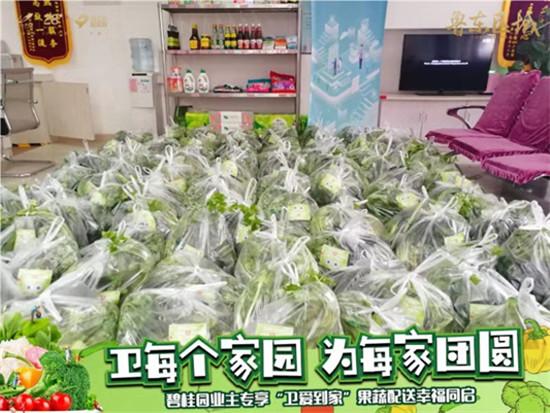 """碧桂园鲁东区域组织""""为爱到家"""""""