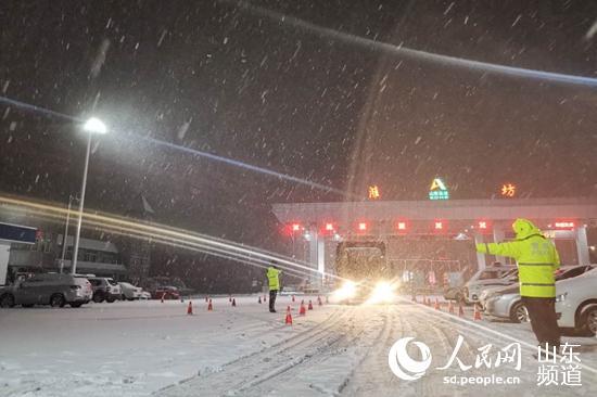 潍坊公安:风雨雪夜坚守的忠诚卫士
