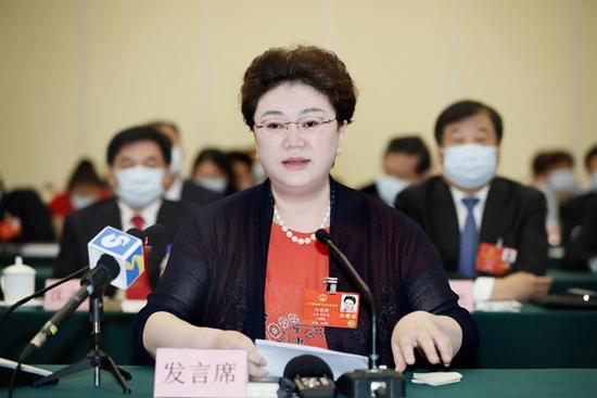 山东艺术学院副院长刘晓静代表:大学治理现代化 推进内涵式发展