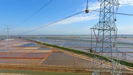 国网山东电力建成投运大唐东营电厂500千伏送出工程