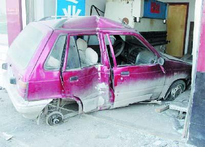 """""""最醉""""司机出车祸险丧命 酒精含量严重超标"""