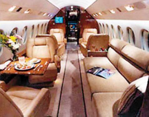 比其他私人飞机都要豪华
