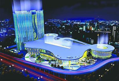 效果图-济南西客站客运枢纽设计很亲泉高清图片