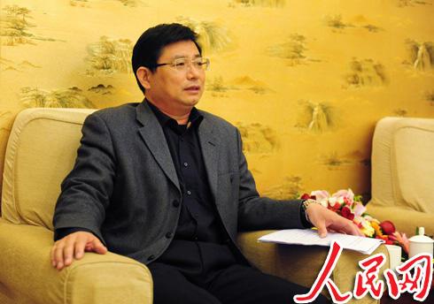 网络媒体行汶上采风·李成勇部长答记者问--山