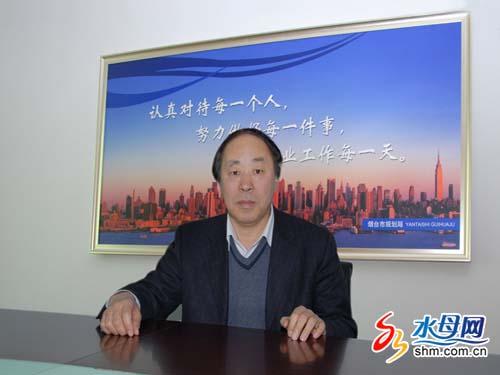 烟台市人大代表,市规划局局长杜伟平
