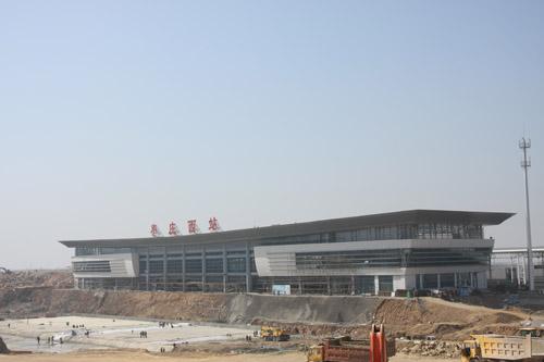 京沪高铁枣庄西站预计4月底竣工
